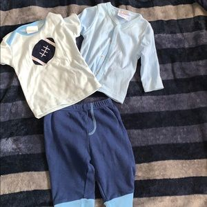 3 piece Baby Boy Matching Set